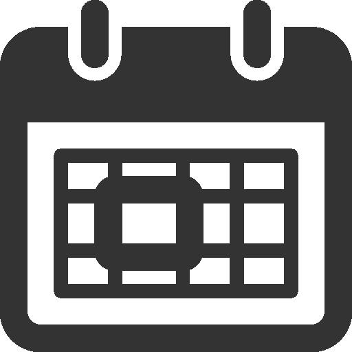 11 Calendar Icon Black Images