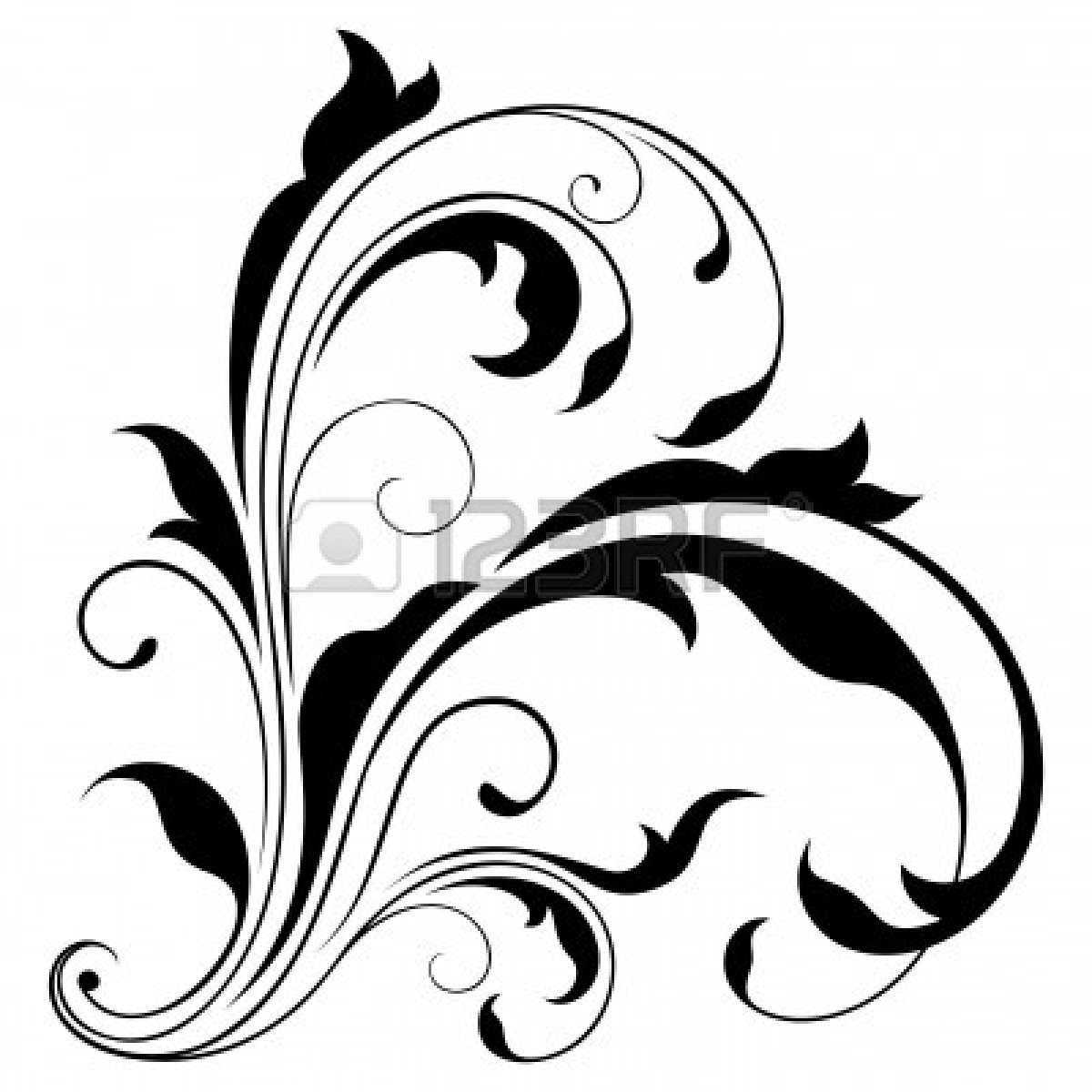 Swirl Art Designs : Black swirls designs bing images