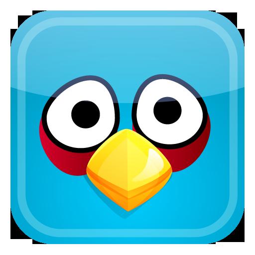 Blue Angry Birds Clip Art