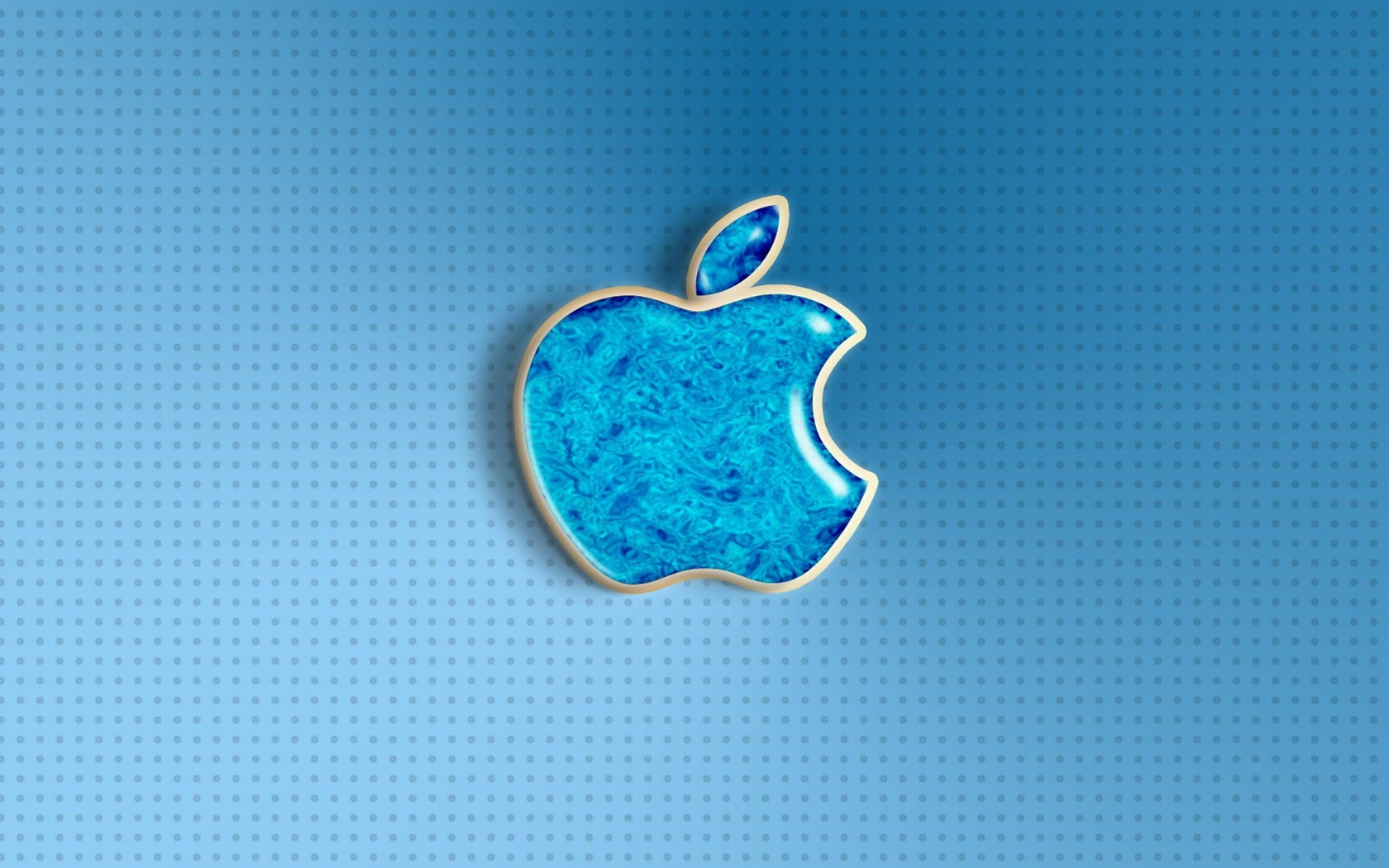 Blue Apple Logo Desktop