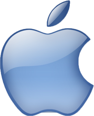 15 Blue Apple Icon Images