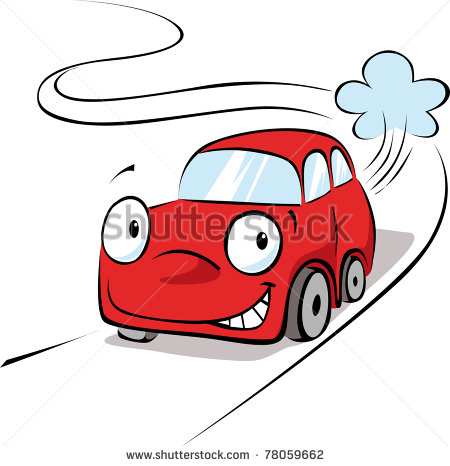 19 New Cartoon Cars Vector Images
