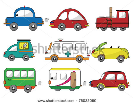 Cartoon Cars Icons