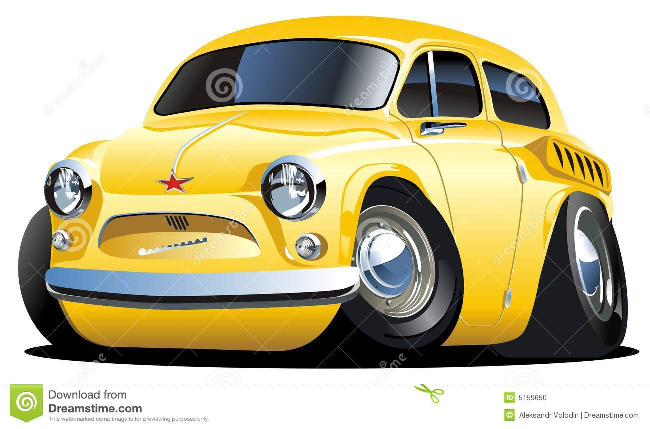 Cartoon Classic Cars
