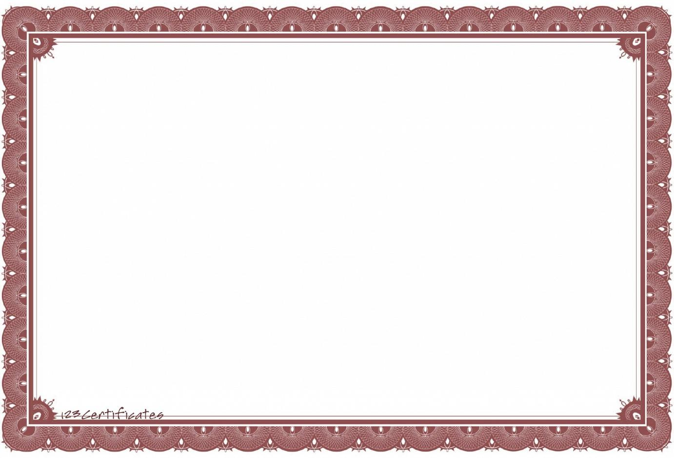 18 vector certificate border templates shotgun images for Photoshop certificate template