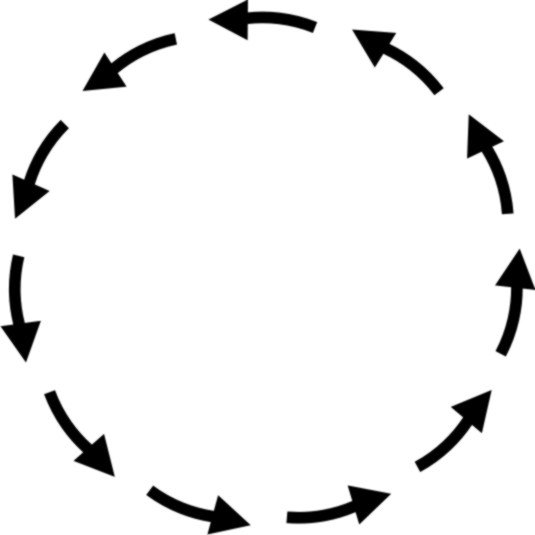 clipart arrows in a circle - photo #18