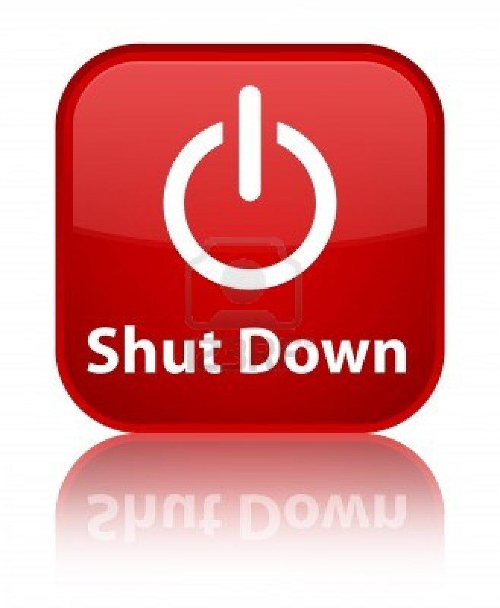 14 Shut Down Icon On Desktop Images
