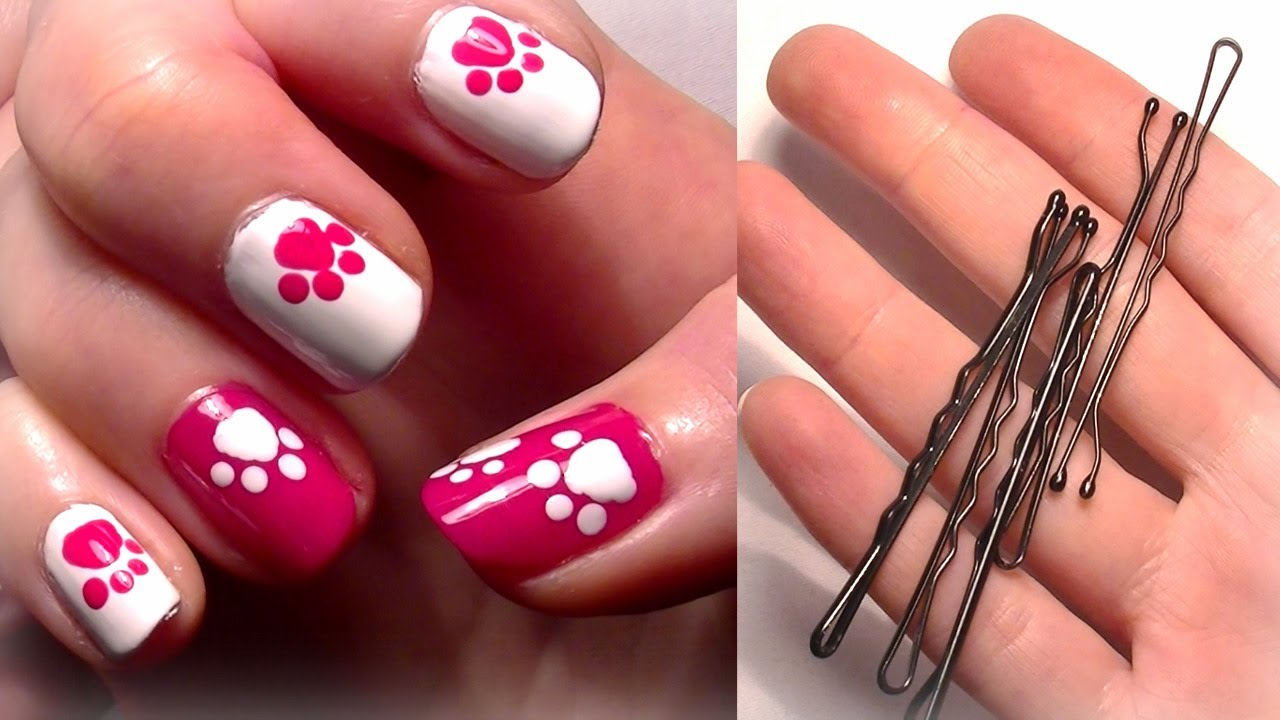 13 Cute Disney Nail Art Designs For Beginners Images