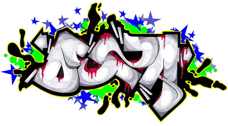 14 Grafiti Fonts Graphic Design Images