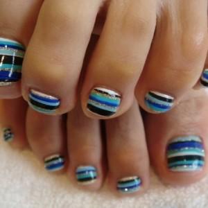Easy Toe Nail Designs at Home