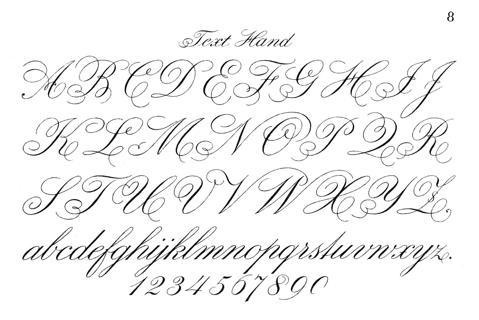 Fancy Cursive Letters Printable