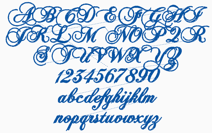 8 Old Fancy Script Fonts Images Fancy Cursive Tattoo