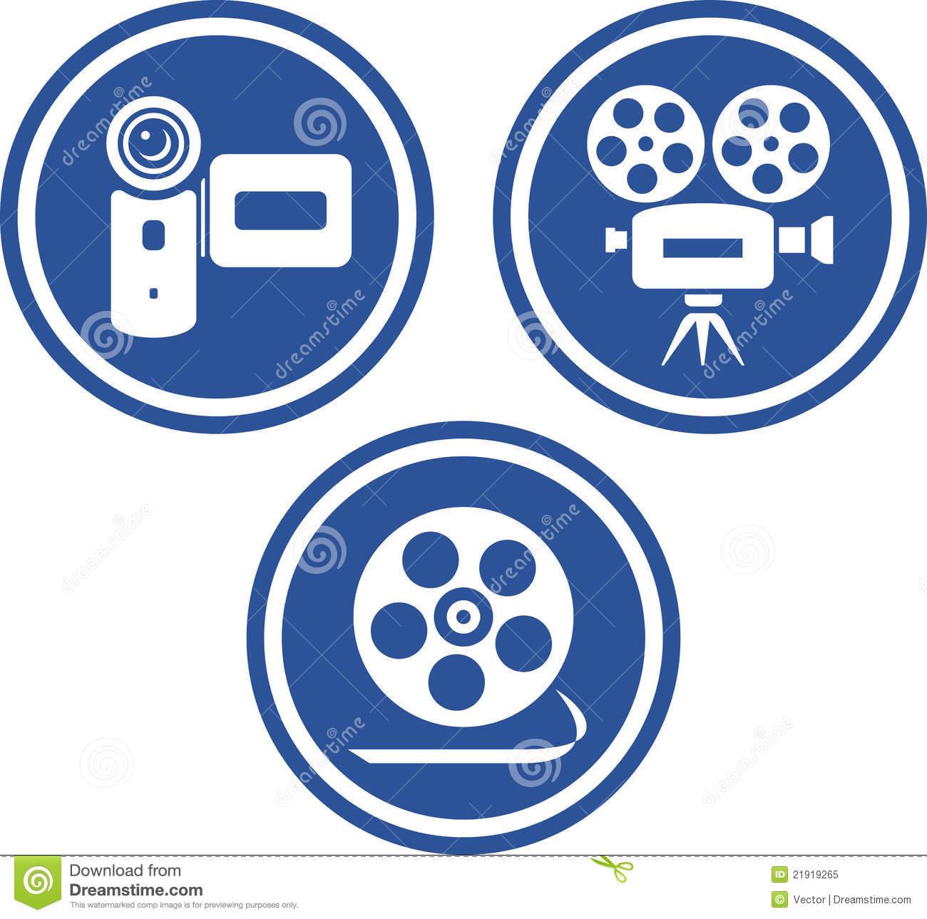 Film Camera Icon Vector Free