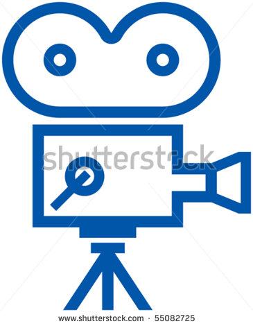 Film Camera Icon Vector