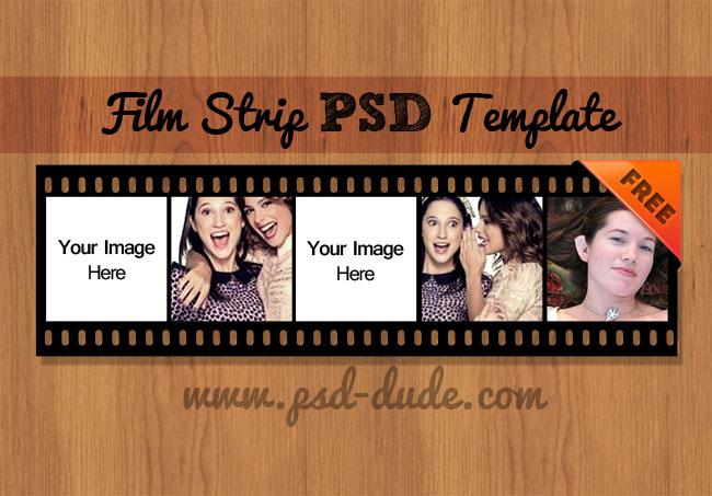 Film Strip Template Photoshop