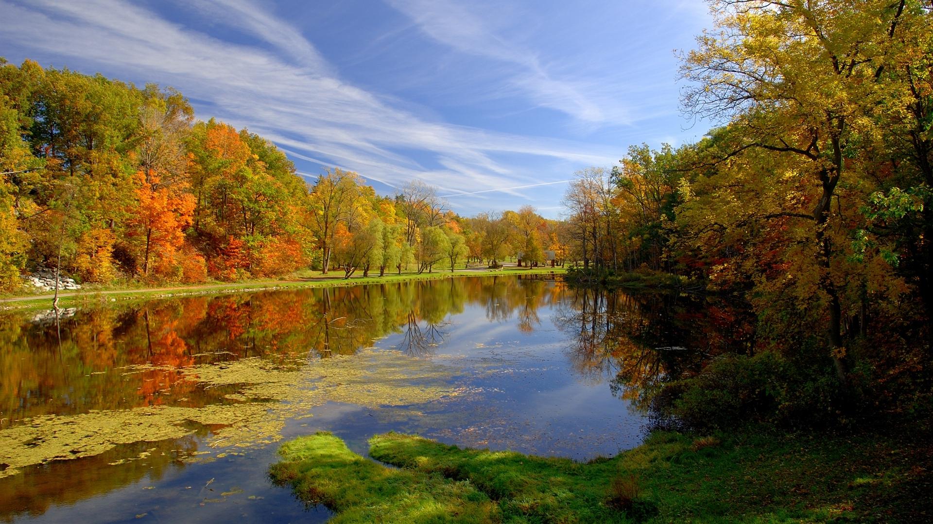 Free Autumn Landscape Desktop