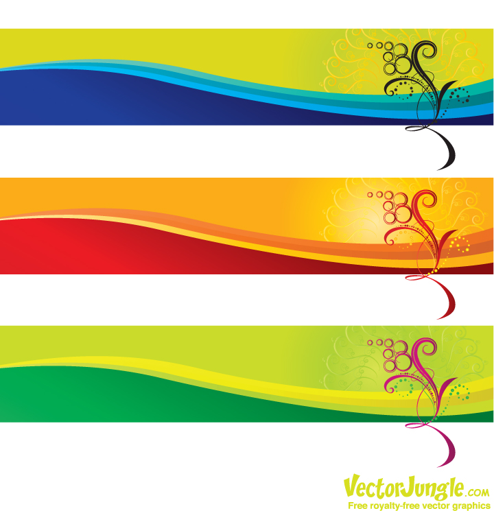 16 Banner Vector Art Graphics Images
