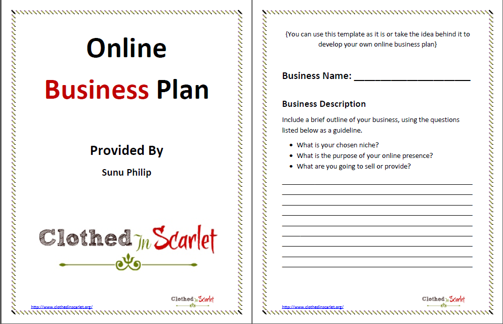 15 Design Business Plan Templates Images