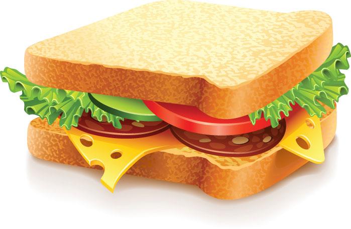 Free Clip Art Sandwich