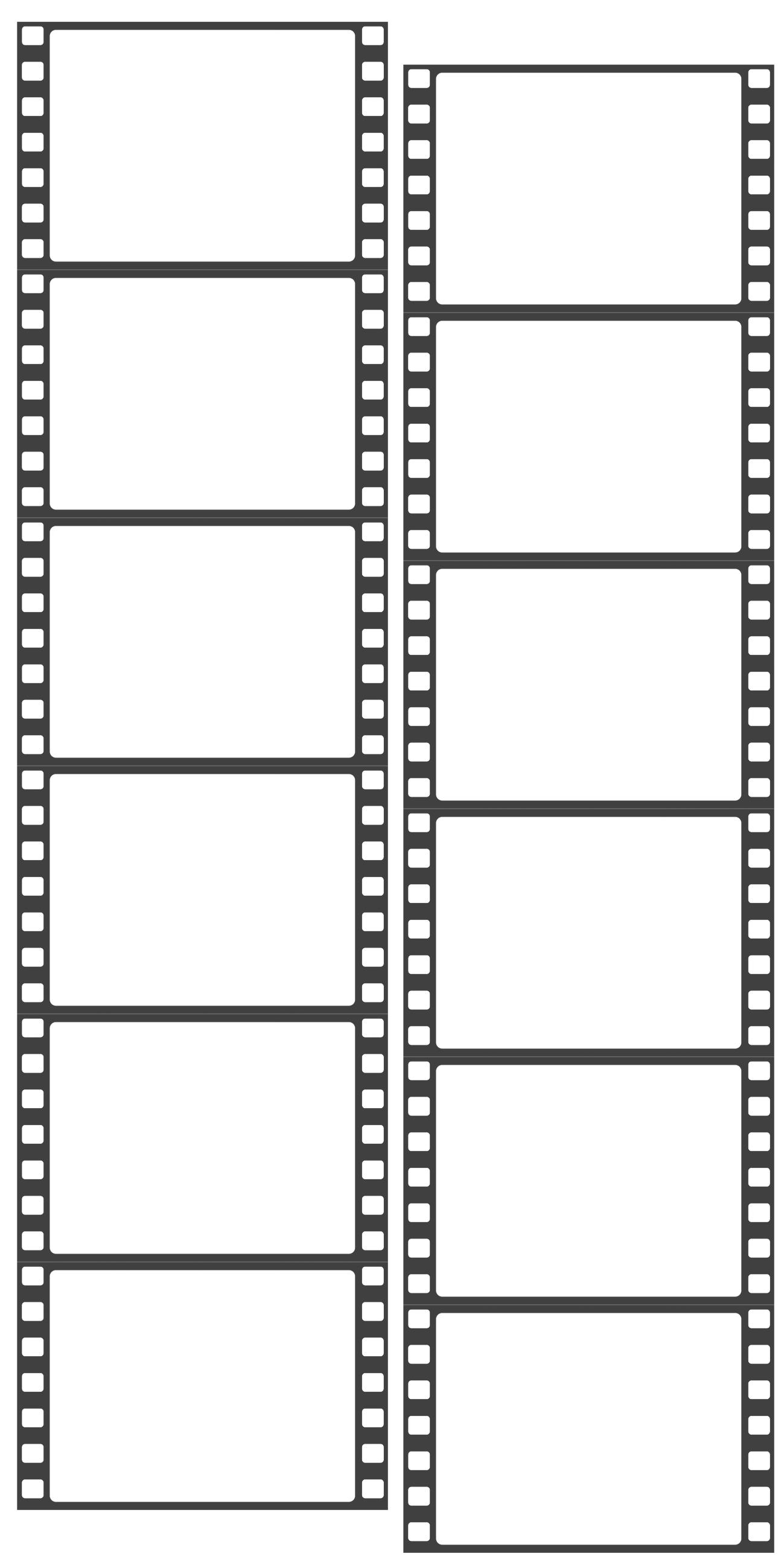 Free Film Strip Template Photoshop