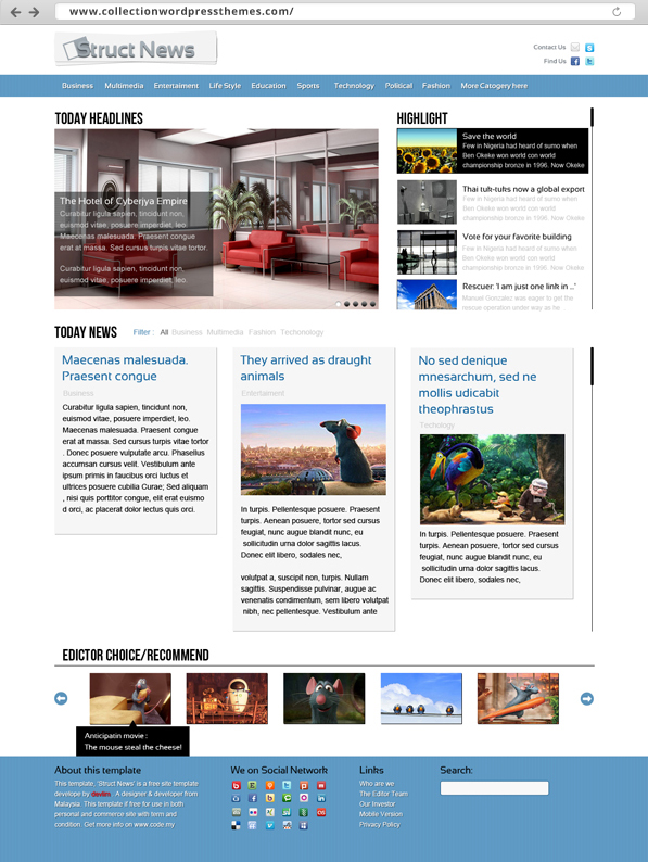 72630452 business templates for brochure magazine flyer annual ...