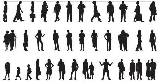 Free People Vectors Graphics