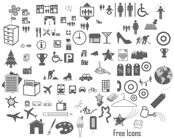 16 Free Icons Vector Art Images