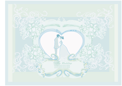 19 Wedding Background Design Vector Images