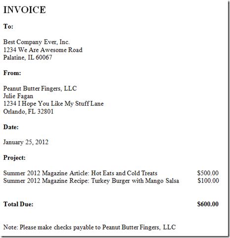 18 Freelance Invoice Design Images - Freelance Invoice Template