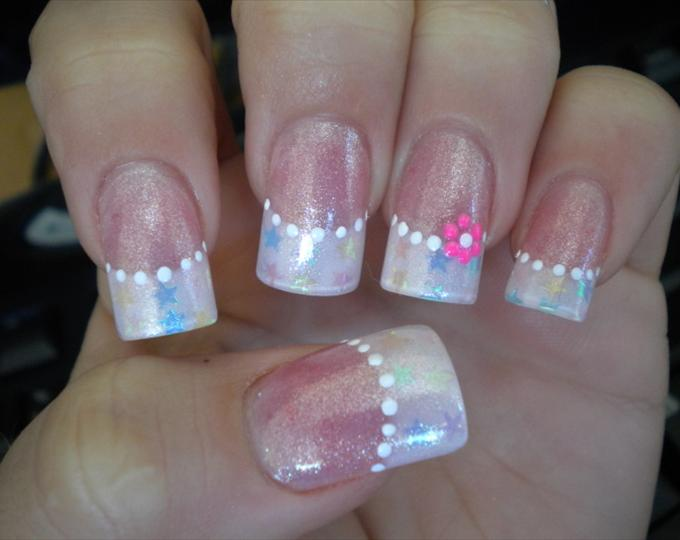 13 Acrylic Nails French Manicure Designs Images - Cute French Tip ...