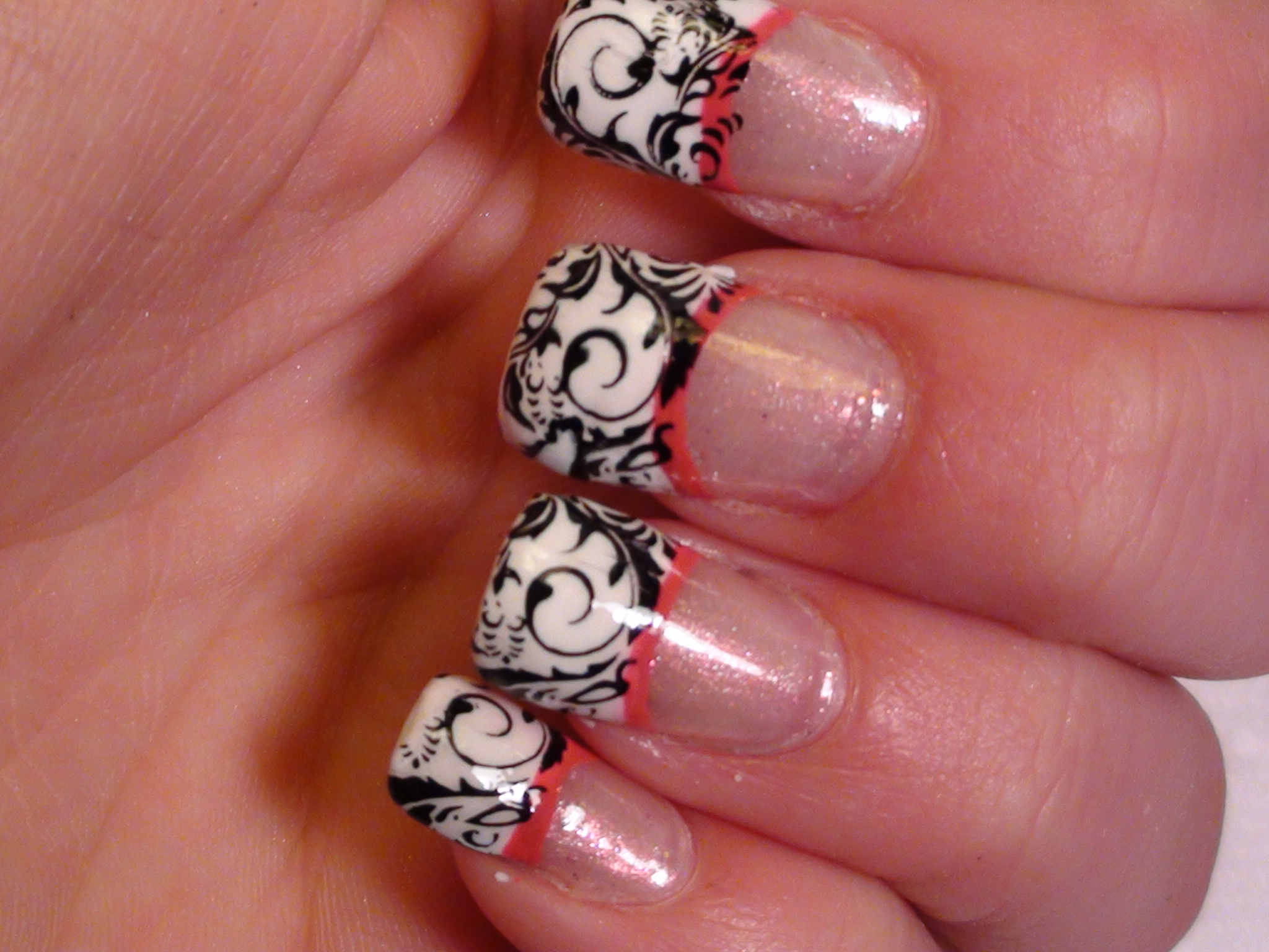 French Tip Nail Art Designs