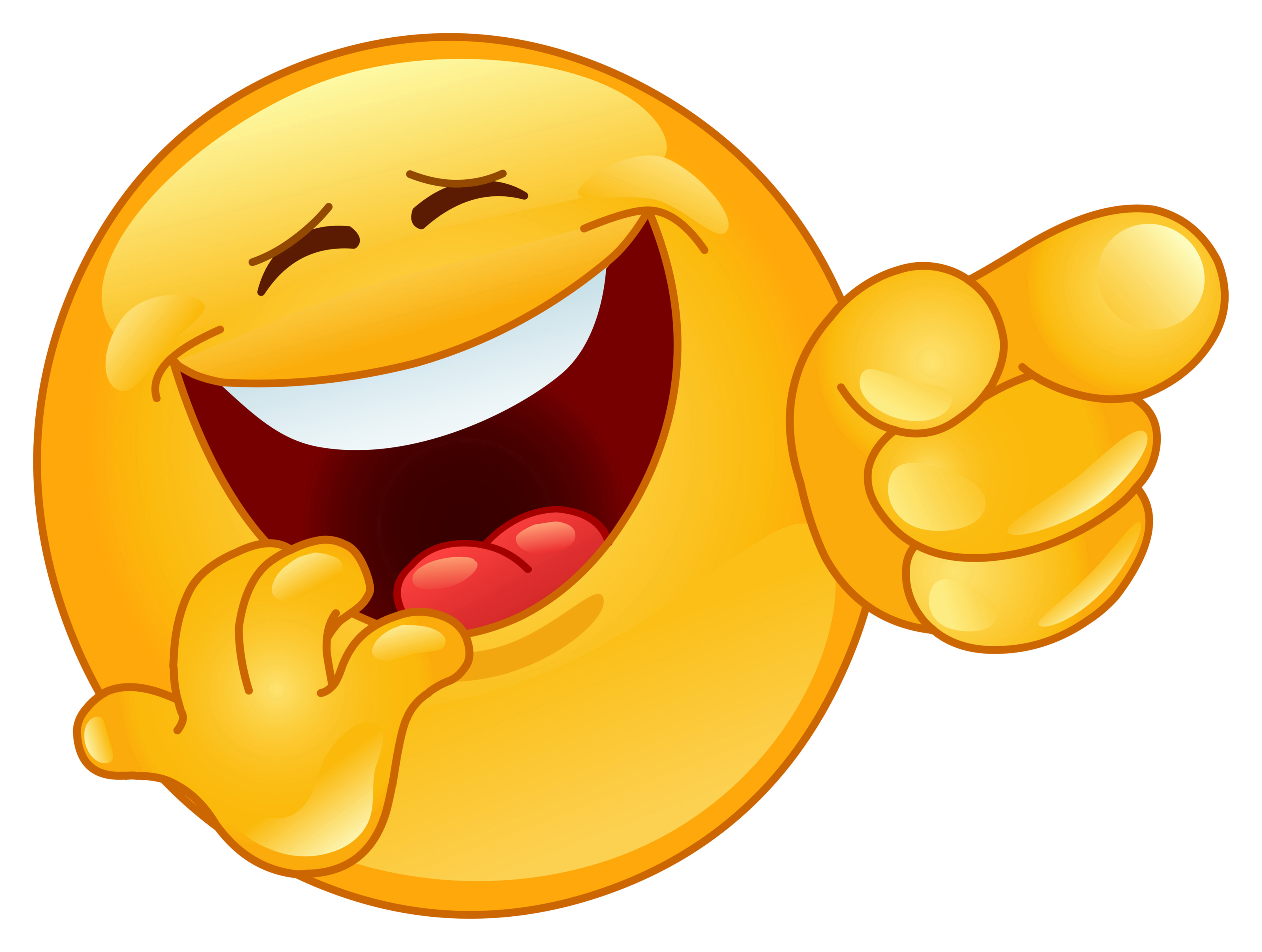 Funny Laughing Emoticons
