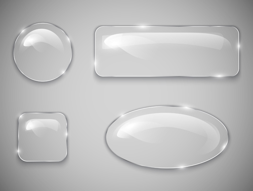 11 Teal Glass Buttons Free Psd Images Glass Button Psd