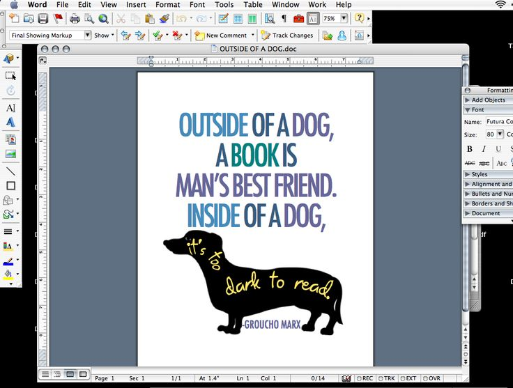 9 Microsoft Word Graphic Design Images