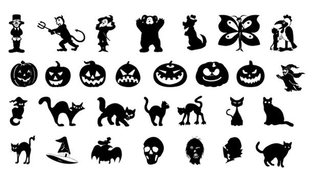 Halloween Silhouette Clip Art