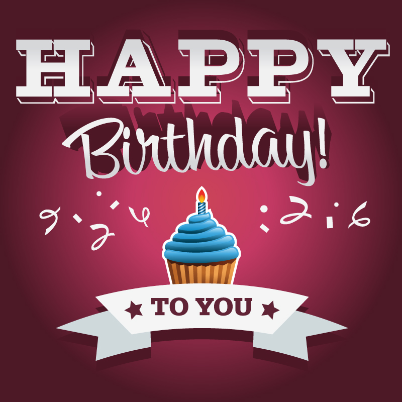 13 Happy Birthday Card Vector Images