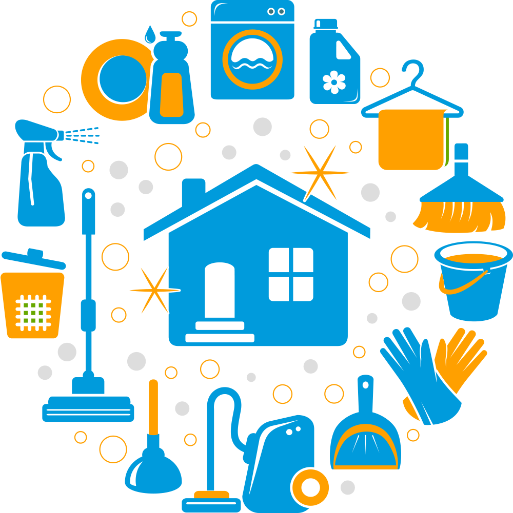 7 House Cleaning Icons Images