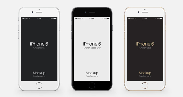 14 IPhone 6 Plus PSD Images