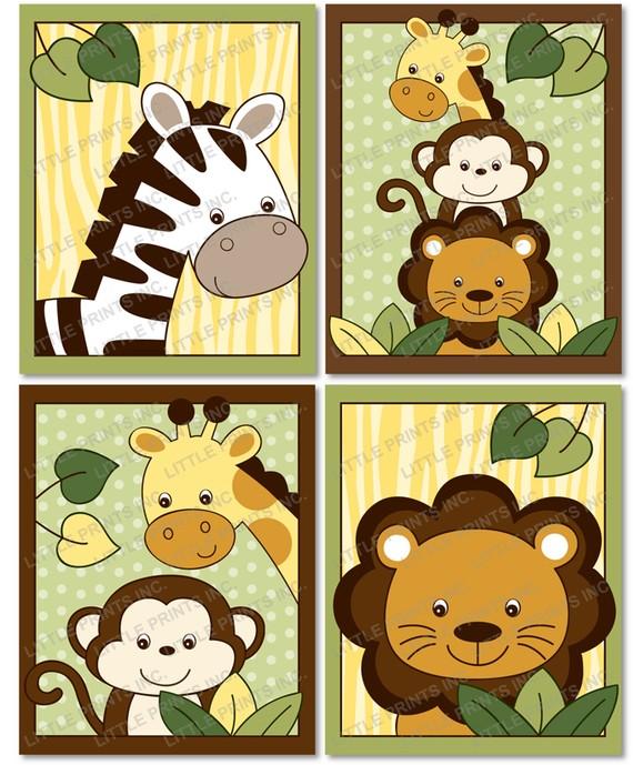 Jungle Safari Animals Printables