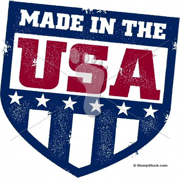 Made in USA Logo Shield