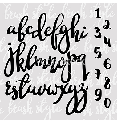 Modern Calligraphy Brush Fonts