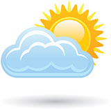 5 Weather Channel Mostly Sunny Icon Images