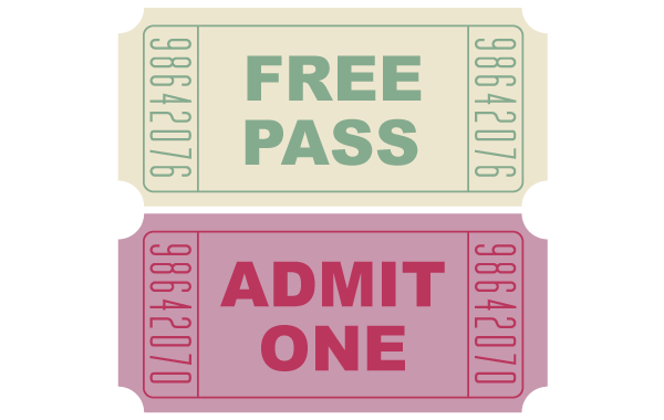 18 Free Vector Ticket Images
