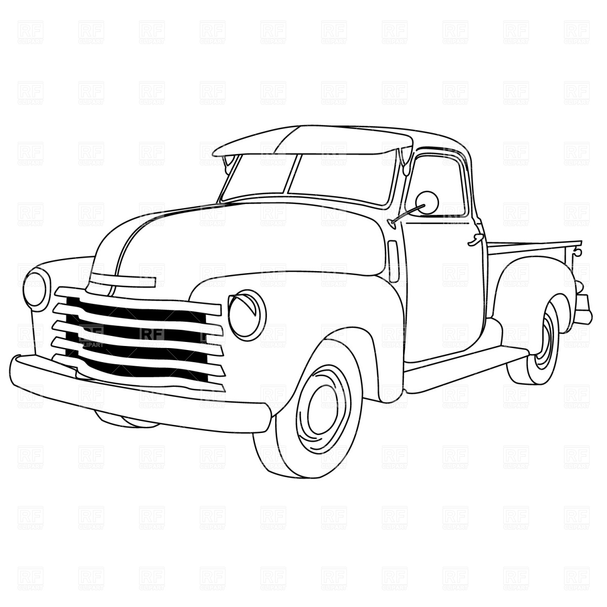 17 Classic Truck Vector Clip Art Images Old Chevy Truck Drawings Ford Pickup Truck Clip Art And Pick Up Truck Clip Art Newdesignfile Com