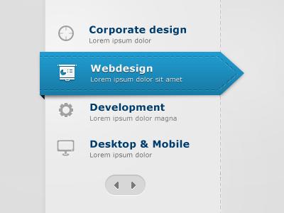 Home page menu design – House design ideas