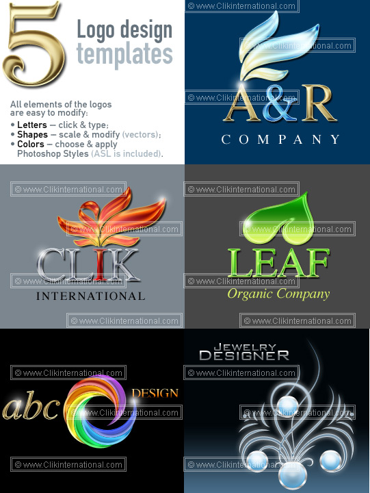 Photoshop Logo Design Templates