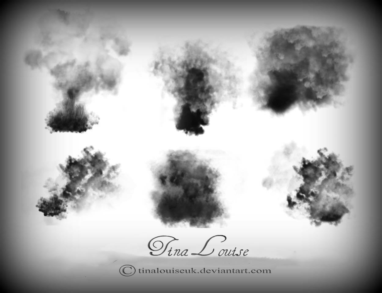 20 Smoke PSD Brushes Images - Photoshop Smoke Brushes, Photoshop