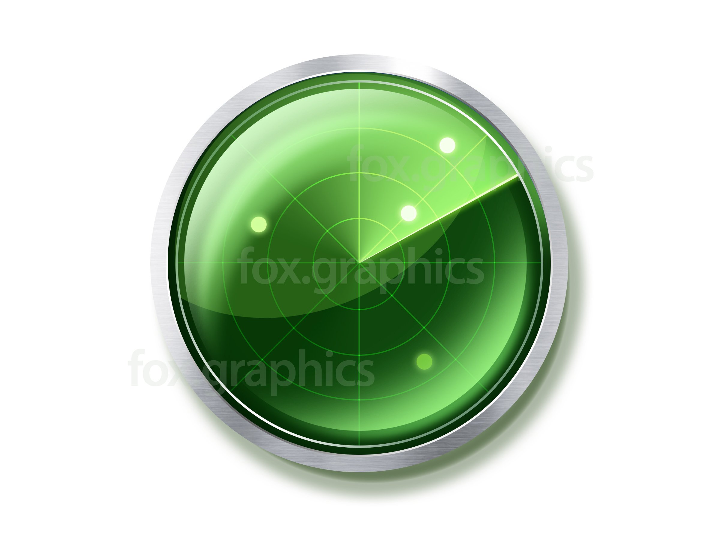 PSD Icon Radar Screen