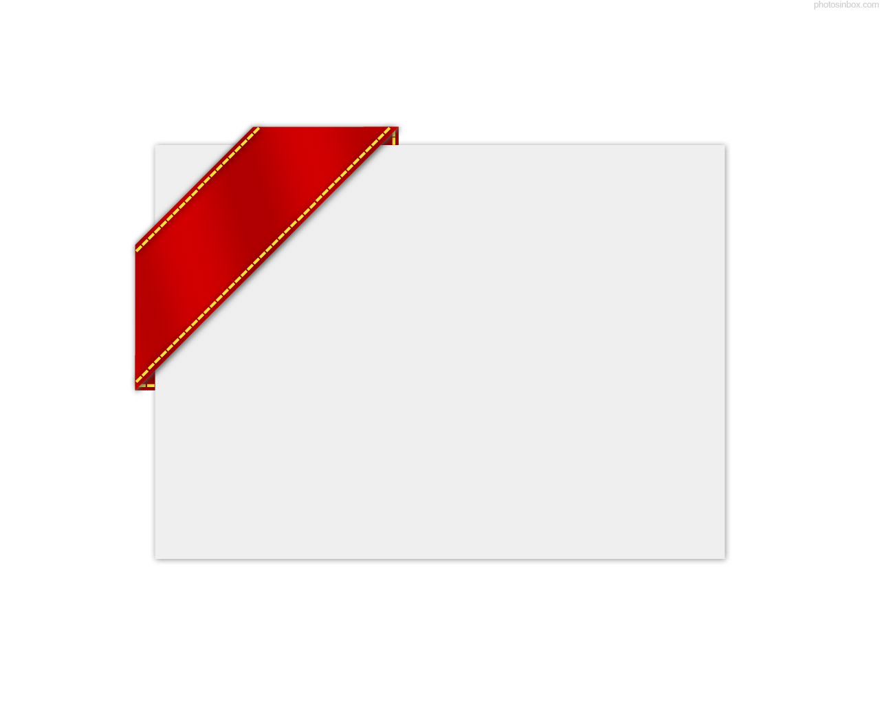 Red Ribbon Template