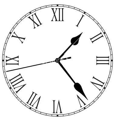 15 Clock Face Vector Images